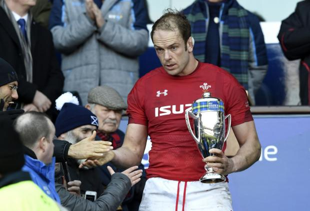 Penarth Times: TALISMAN: Alun Wyn Jones