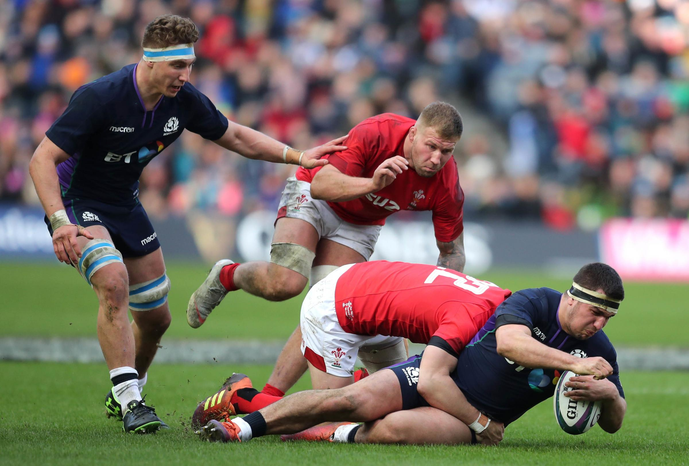 STRONG: Wales stood firm