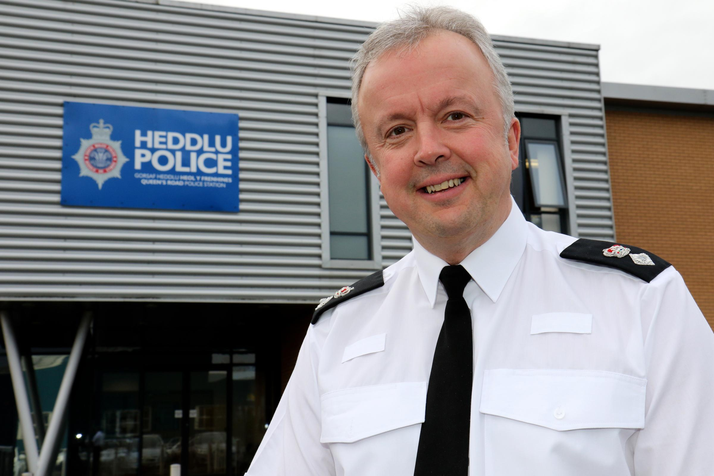 The new Chief Supt Alun Morgan