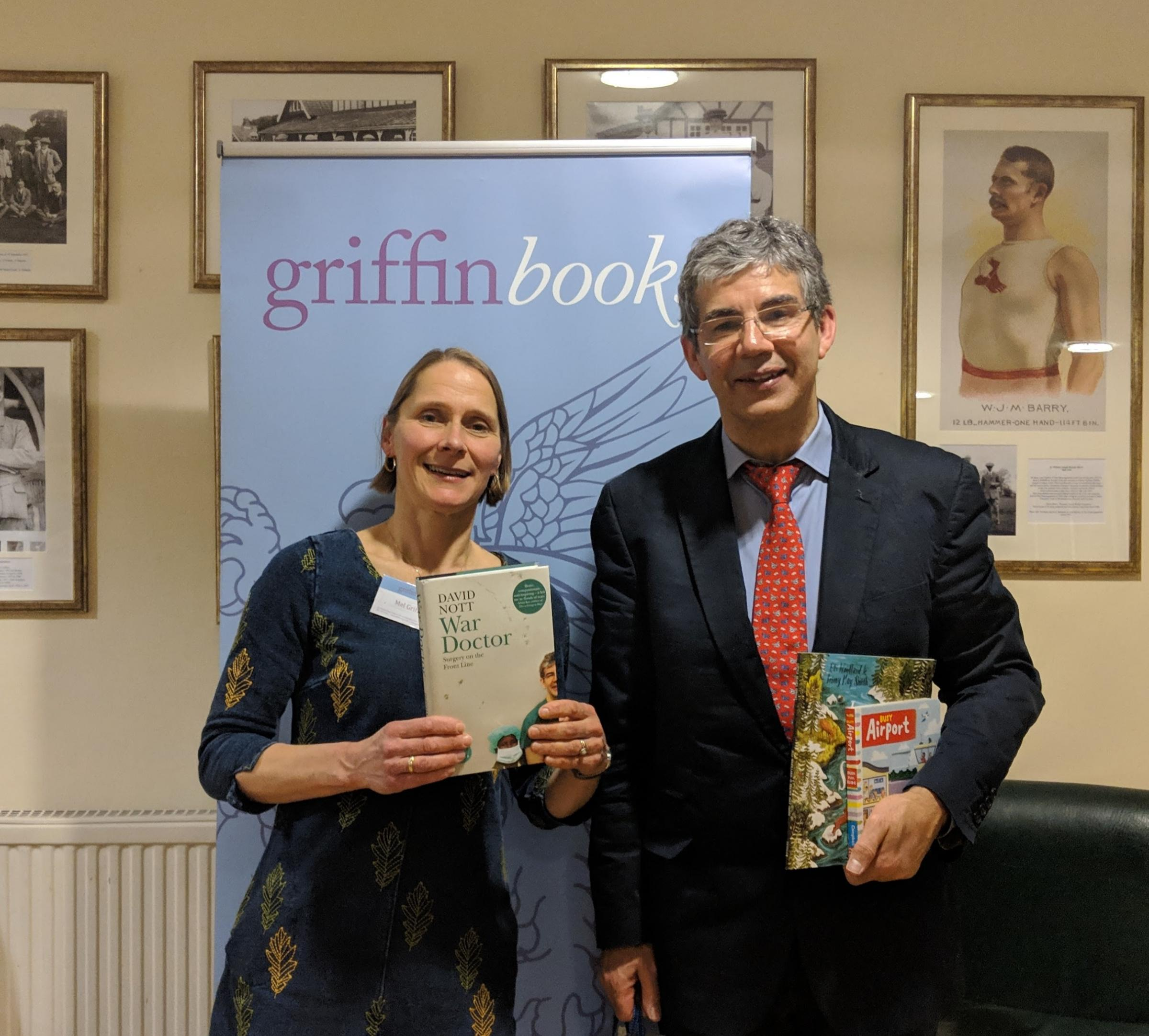 Mel Griffin and David Nott