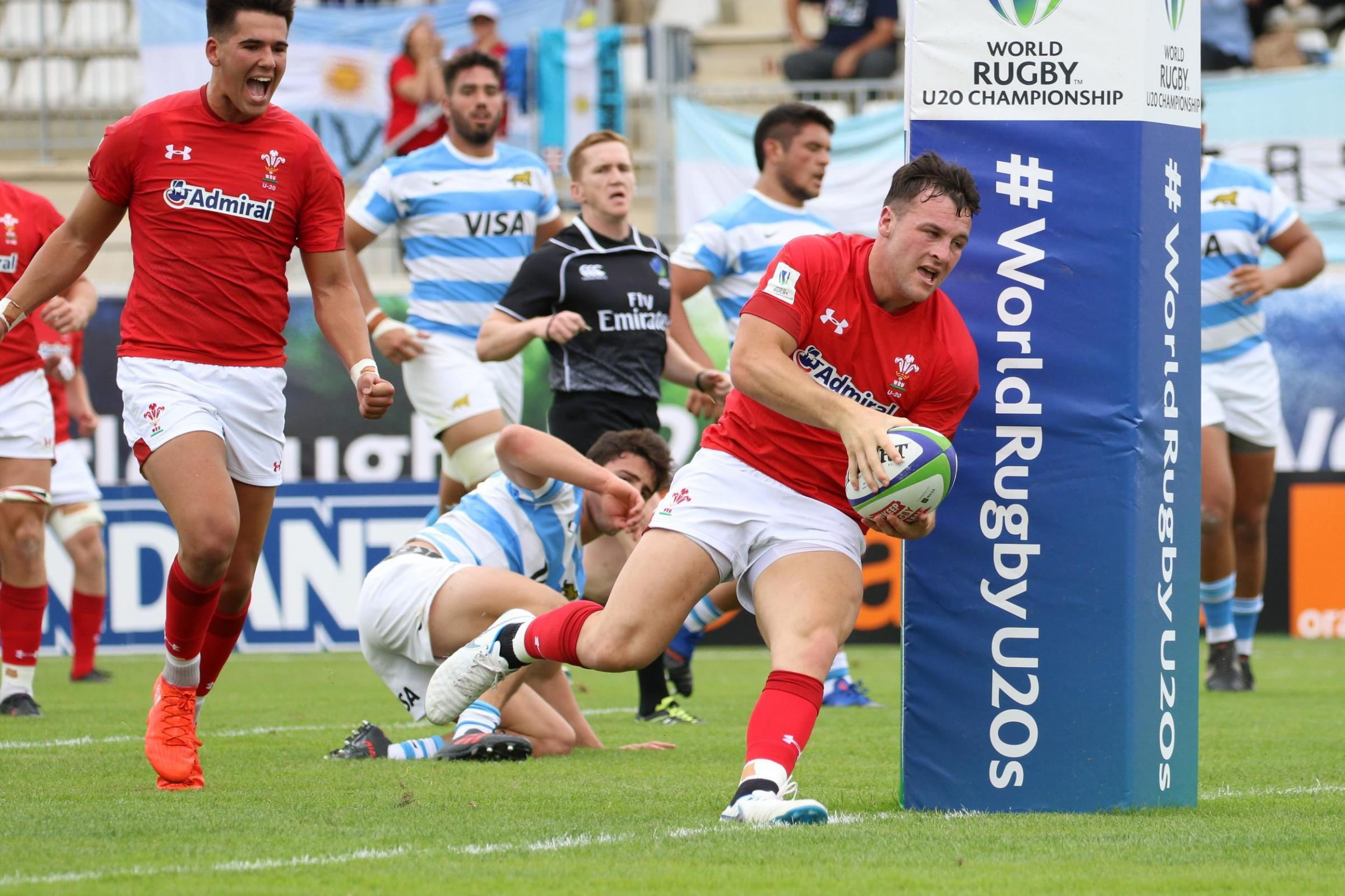 SUMMER TEST: Ryan Conbeer and Wales will face Argentina again in the World Rugby U20 Championship