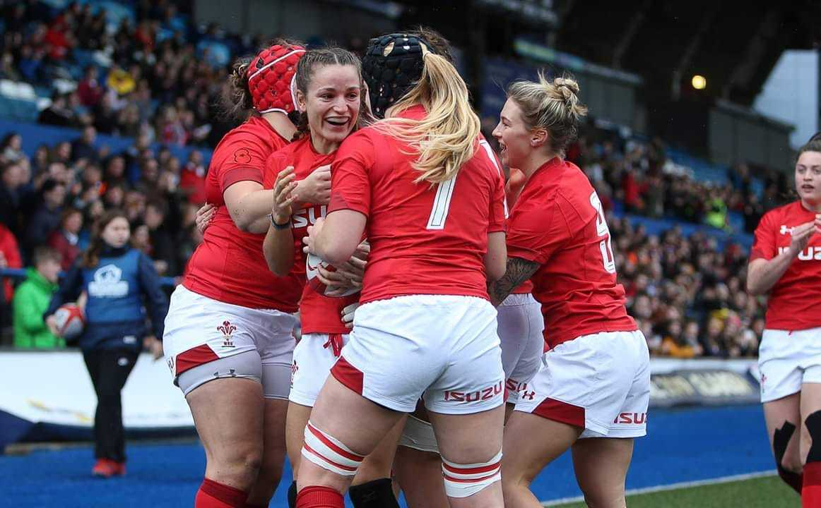 Jasmine Joyce says Wales Women are on the up