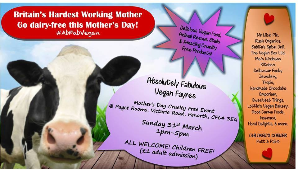 Penarth Paget Rooms to host Vegan Fair to celebrate Mother's Day