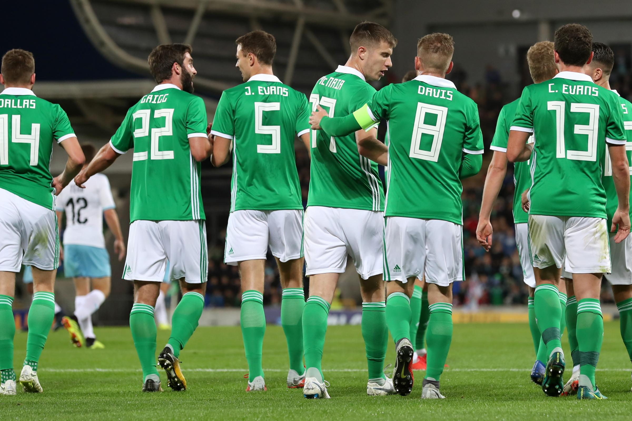 Northern Ireland are back in action against Estonia on Thursday night