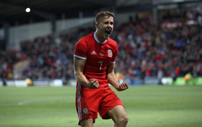 ON THE UP: Midfielder Will Vaulks could feature for Wales in Croatia on Saturday