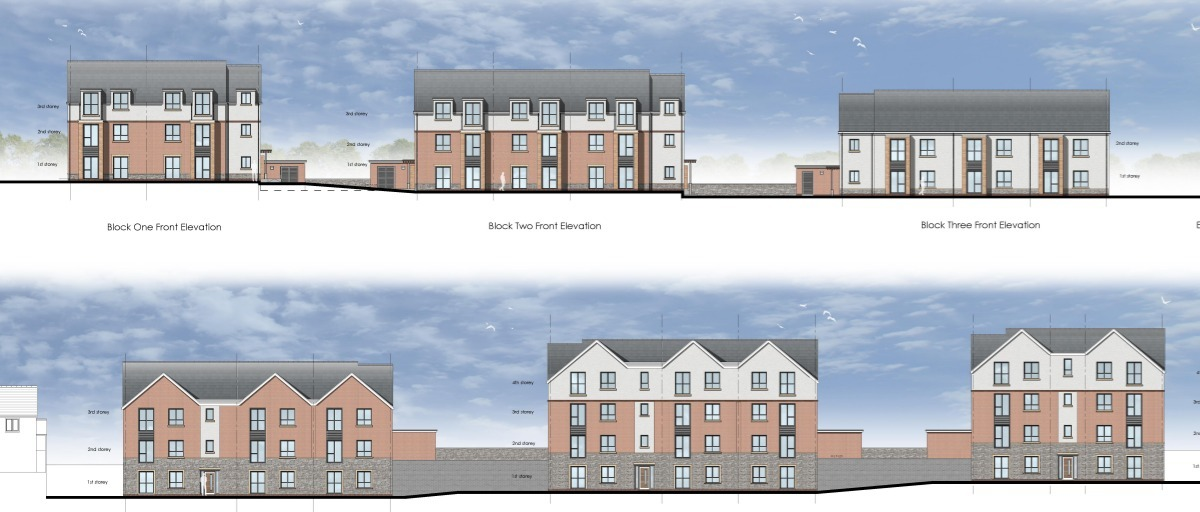 Llandough Homes. Credit: Spring Design taken from planning application