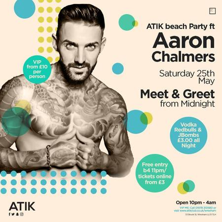 ATIK Beach Party ft. Aaron Chalmers