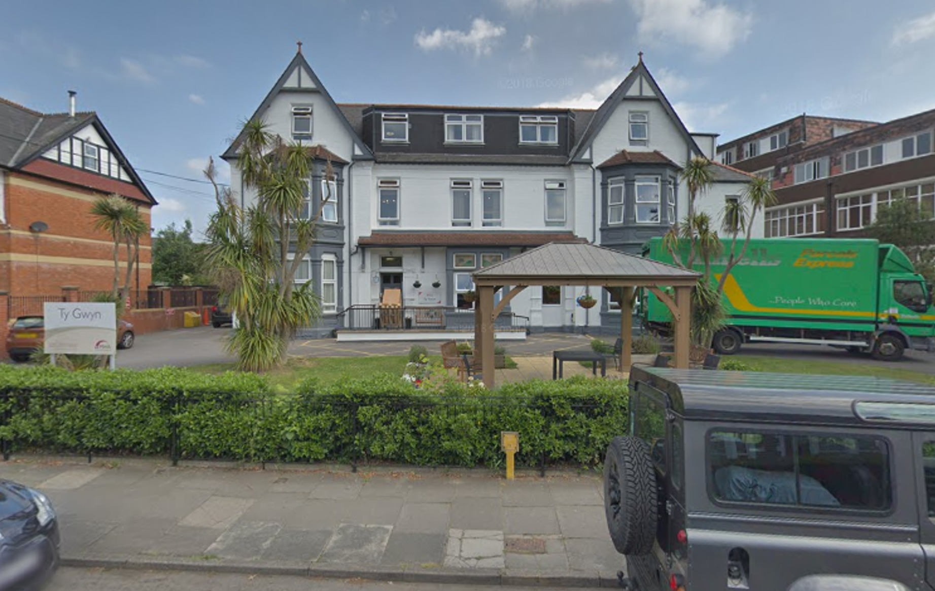 Ty Gwyn Care Home on Stanwell Road was inspected in February this year. Credit: Google
